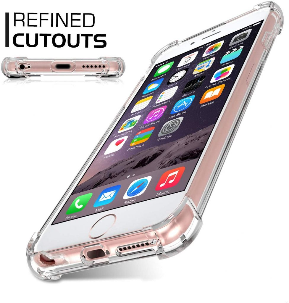 Jenuos Transparent, une coque iPhone 6